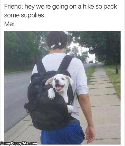 Pack Some Supplies